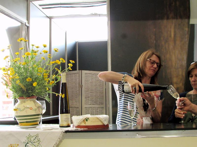 Prova de vinho na  Festa do Alvarinho em Melgaço