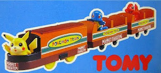 Tomy plarail Pokemon Train