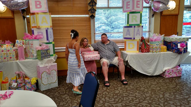 Baby shower excitement!