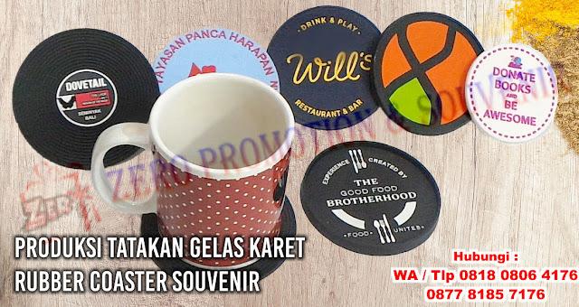 Rubber Coaster, Jual Tatakan Gelas Karet, Tatakan Gelas Karet Promosi, Produsen tatakan gelas cangkir karet, rubber coaster promosi
