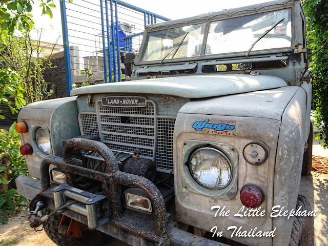 Old Land Rovers in Nam Pat
