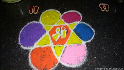 Rangolis for Padwa