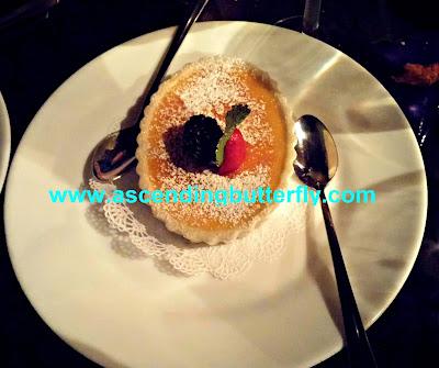 Creme Brulee Dessert, High Street Caffe & Vudu Lounge