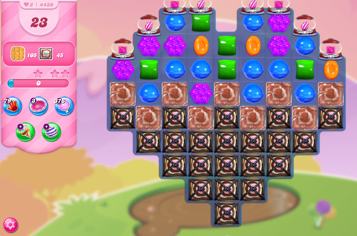 Candy Crush Saga level 4436