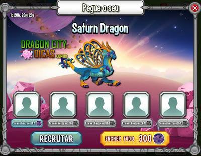 Ganhe o Dragão Saturno