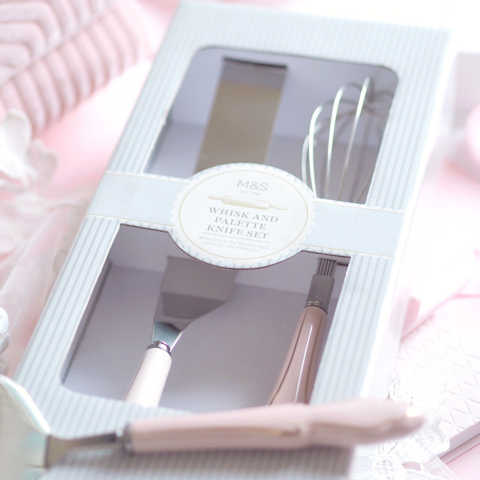 Marks & Spencer Pastel Vintage Bakeware | What I Got Treated To On Christmas Day