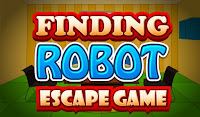 Meena Finding Robot Escape Game