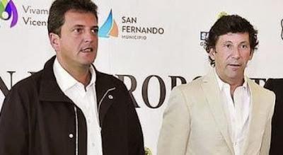 Sergio Massa y Gustavo Posse