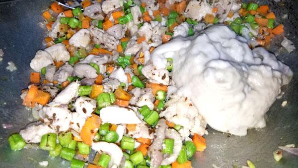 Potato Craft Pie, healthy dish