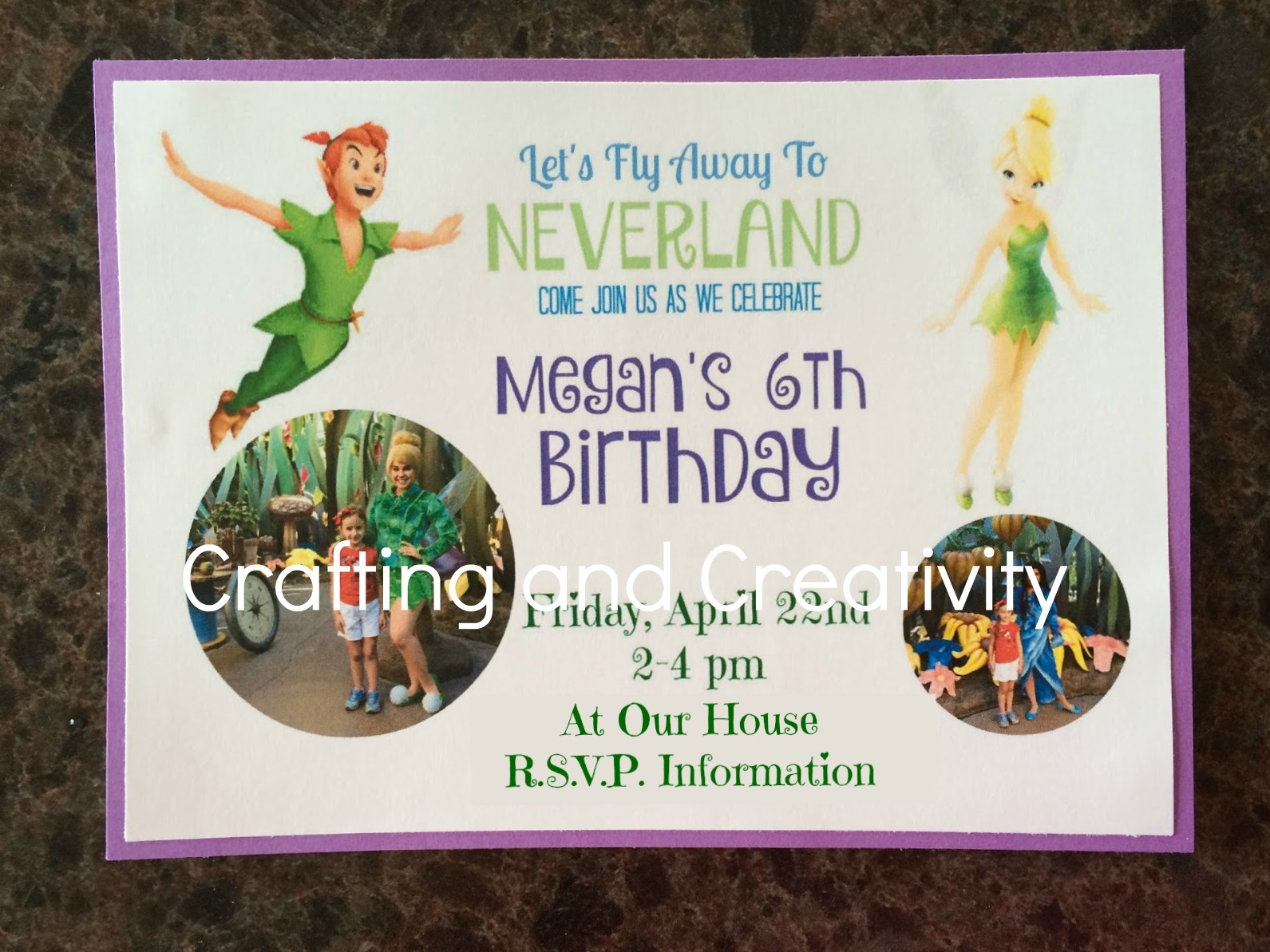 Crafting and Creativity: My Daughter\'s 6th Birthday Party ...