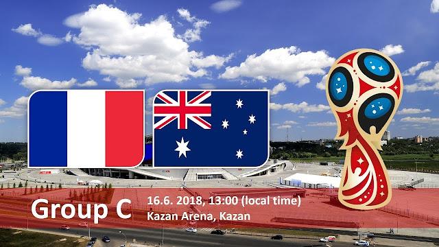 Svetsko prvenstvo: Francuska - Australija livestream gledanje [16.06.2018 12:00]