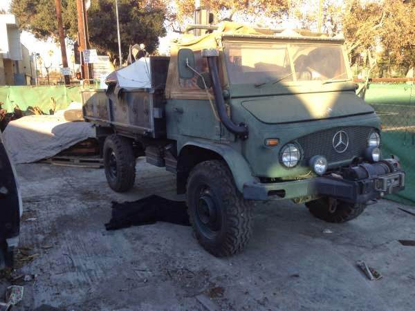 Unique Military Utility Vehicle Mercedes Benz Unimog 1966