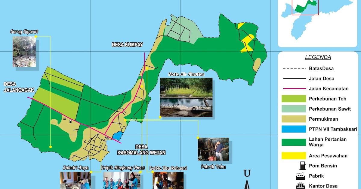 Peta Potensi Desa Kasomalang Kulon ~ Desa Kasomalang Kulon