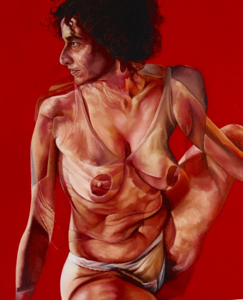 Figurative Paintings by Anderson Santos.