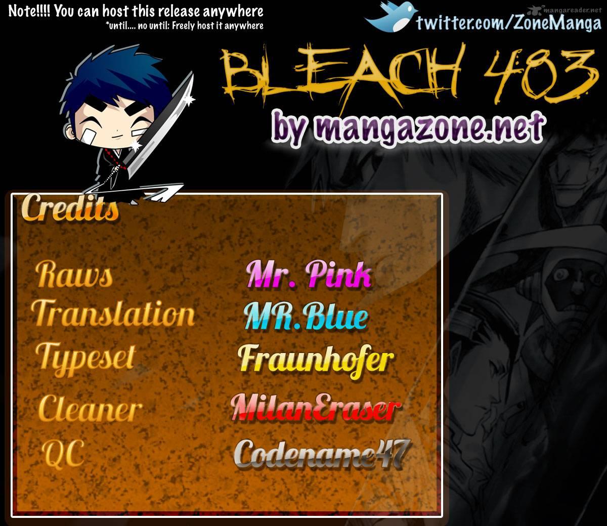 Bleach chapter 483 trang 21