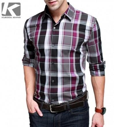 Model Baju Kemeja Pria Keren Dan Trendy Kemeja Pria Lengan Panjang