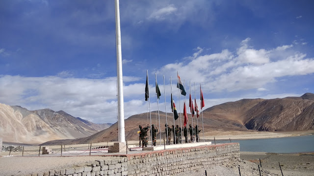 Leh Ladakh Bike Trip, Pangong Lake