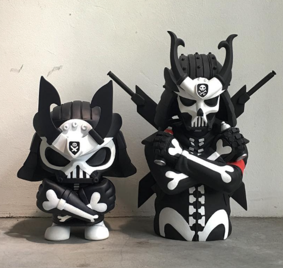 BABY GHOST Custom Skullhead Samurai By QUICCS As A Limited