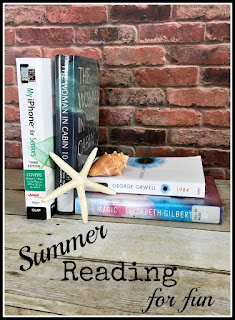Vintage, Paint and more... Summer reading list - what's on your list?