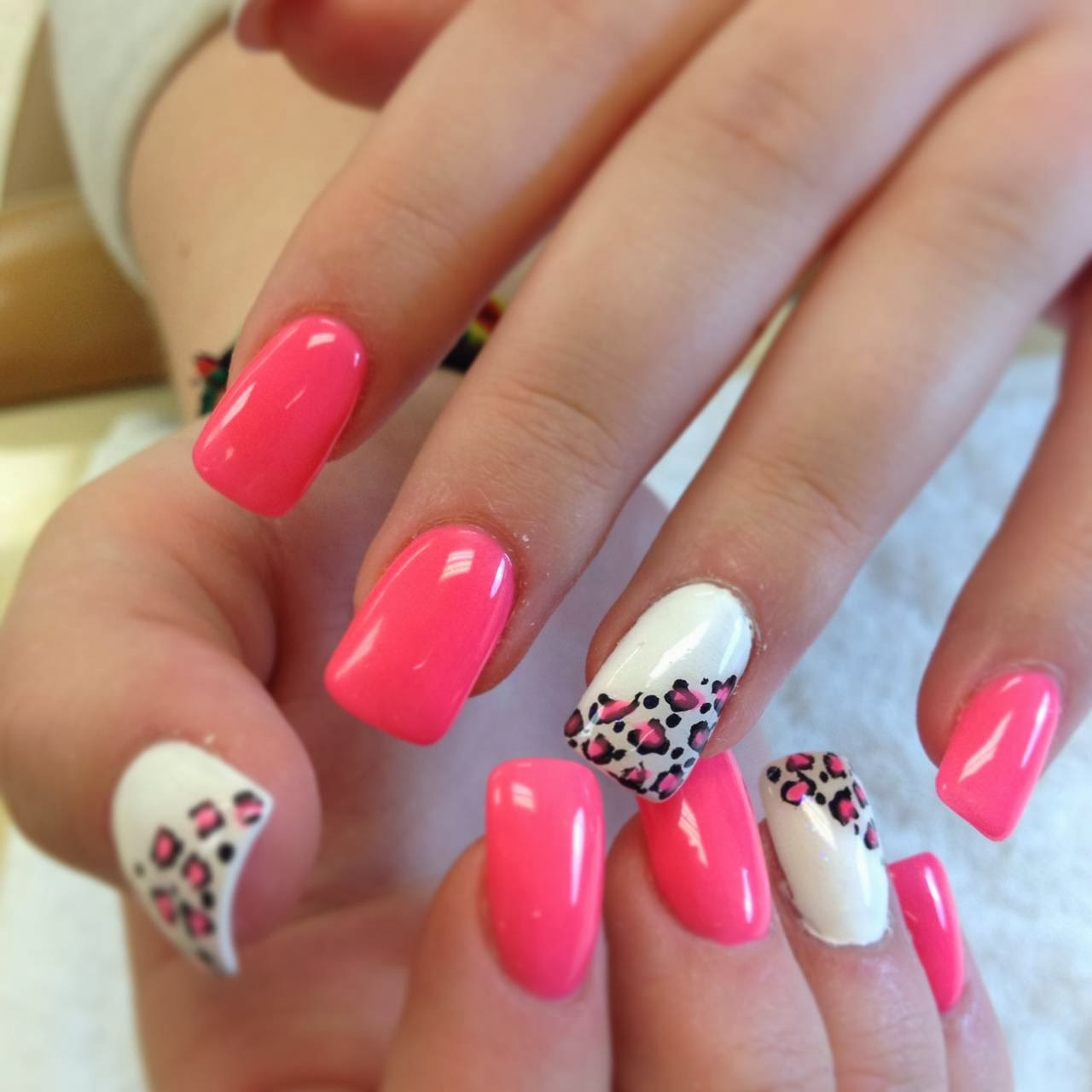 Acrylic Colored Nail Tips   HOME DECORATION LIVE