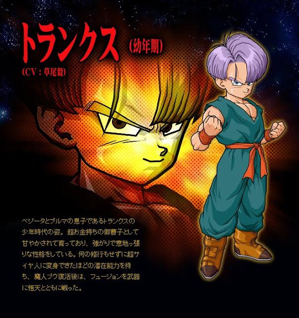 Dragon Ball Enciclopedia Trunks