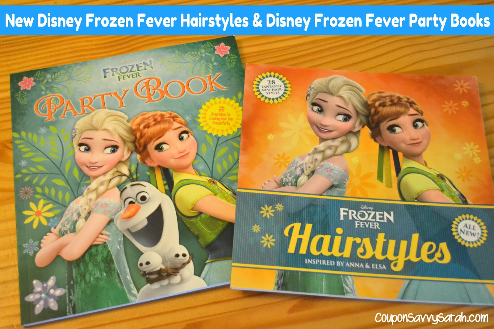 Coupon Savvy Sarah New Disney Books Frozen Fever Hairstyles And Frozen Fever Party Book Review Giveaway Ends 8 7