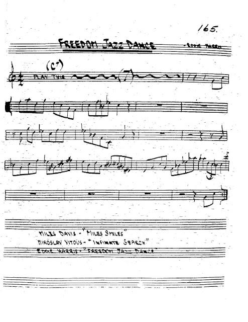Partitura Trompeta Eddie Harris