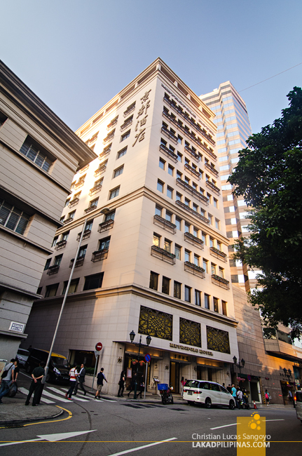 Metropole Hotel Macau Facade