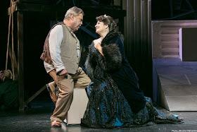 Puccini: Tosca - Kristján Jóhannsson, Claire Rutter - Icelandic Opera (Photo Johanna Olafsdottir)