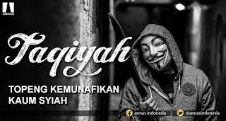 Syiah Memperbolehkan Taqiyah, Ini Bantahannya!