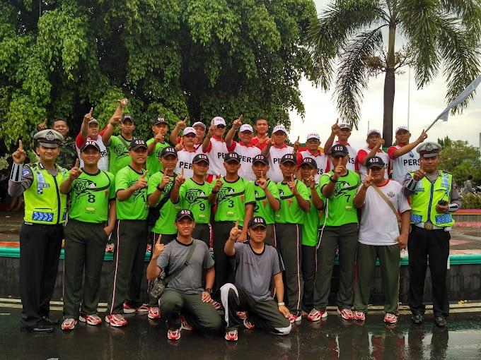 Gerak Jalan memeriahkan Hari Jadi Kota Pati ke 693 dan Dirgahayu Republik Indonesia ke 71