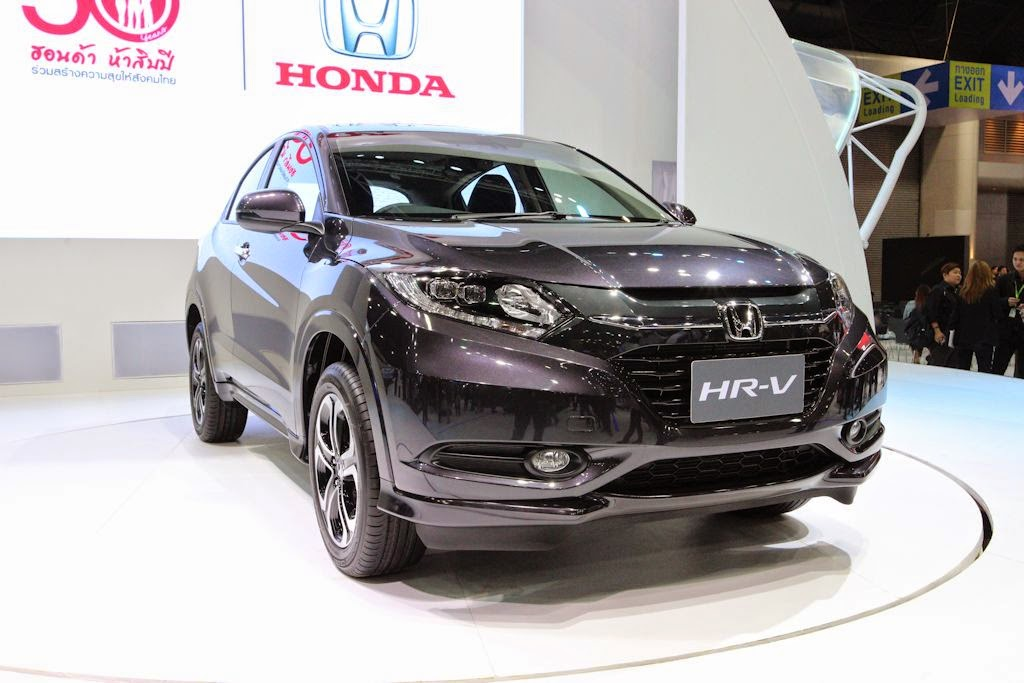Updated Thailand Motor Expo 2014 Honda Launches 2015 Hr