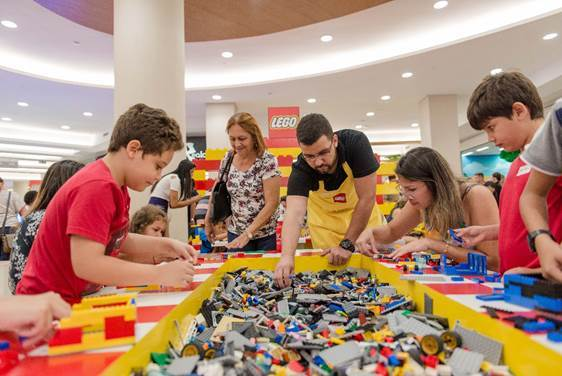 Casa Lego é a nova atração do Golden Square Shopping