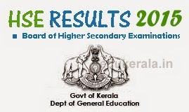 Kerala Plus Two DHSE, VHSE +2 Exam Result 2015