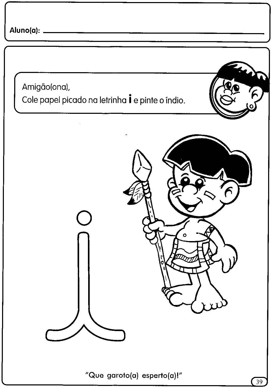 Atividades Com As Vogais Para A Educacao Infantil