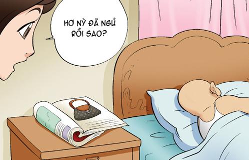 Kim Chi & Củ Cải (bộ mới) phần 445: Hình xăm hiệu