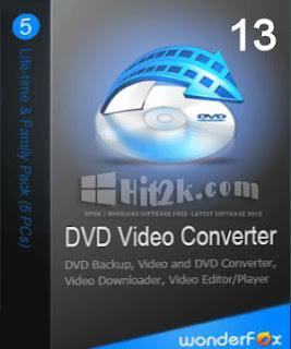 WonderFox DVD Video Converter 13.0 Keygen Free Download