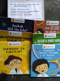 Kiriman Buku Seri Anak Bertanya