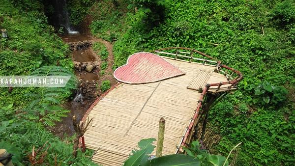 Air Terjun Cinta Wisata Selfie di Wanagiri Buleleng