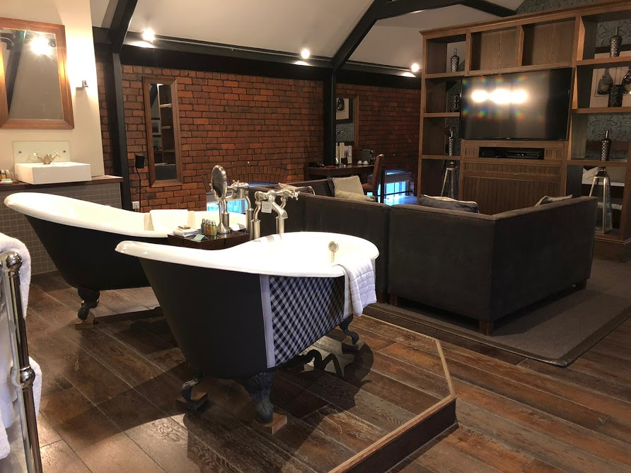 A Grown-Up Festive Weekend in Ouseburn - hotel du vin executive suite