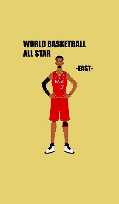 WORLD BASKETBALL ALL STAR -EAST-