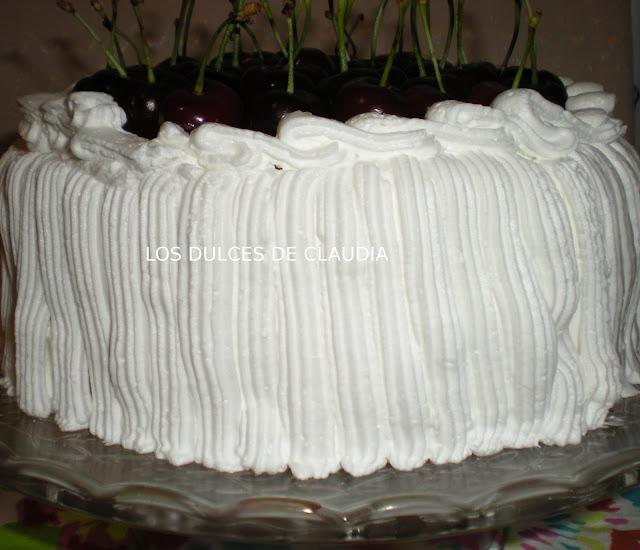 torta con crema de yogur