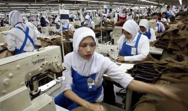 Industri Manufaktur Tumbuh 4,45 Persen