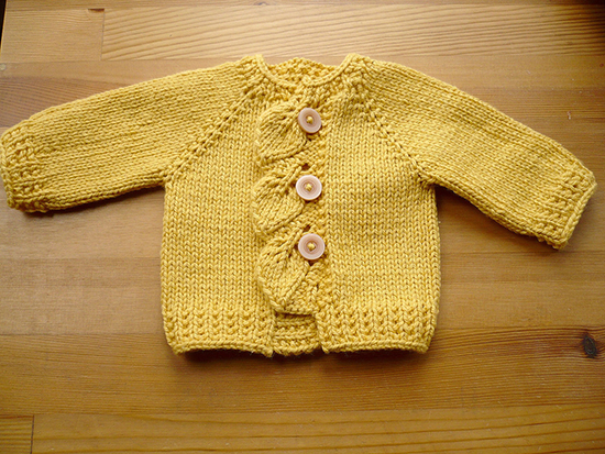 Cascade Sweater Free Knitting Pattern
