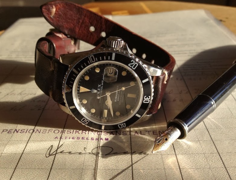 Cay's Vintage Rolex on Swiss Ammo