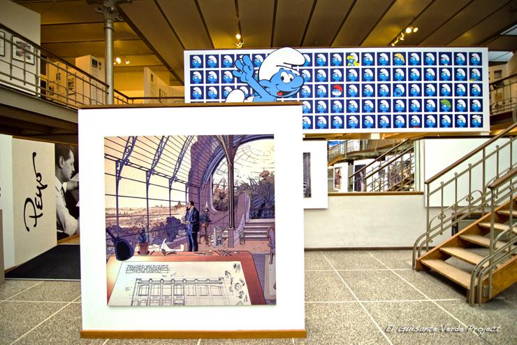 Dibujo Horta, Museo Comic - Bruselas por El Guisante Verde Project