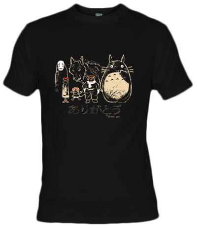 Camiseta Tribute to Miyazaki