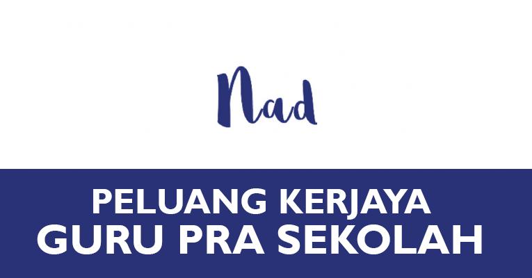 Jawatan Kosong di Nadlique Elysium Sdn Bhd - Guru Pra Sekolah