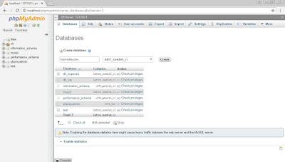 Cara Membuat Database MySQL di XAMPP Dengan Mudah