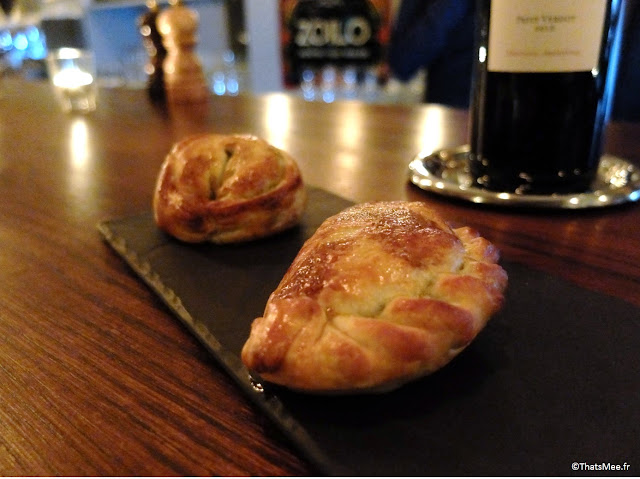 Empanadas boeuf et agneau restaurant argentin Zoilo Londres